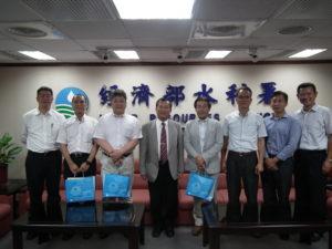 日本專家拜會經濟部水利署