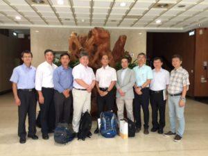 日本專家拜會農委會林務局